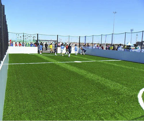synthetic sports pitch