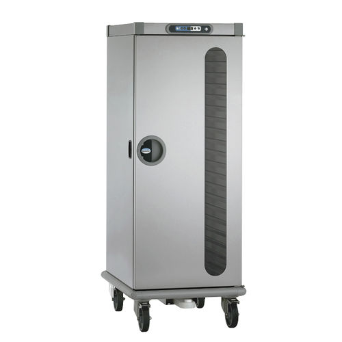 heated holding cabinet on casters