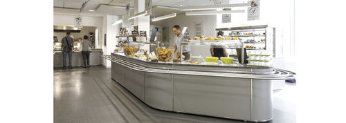 central refrigerated buffet / for restaurants