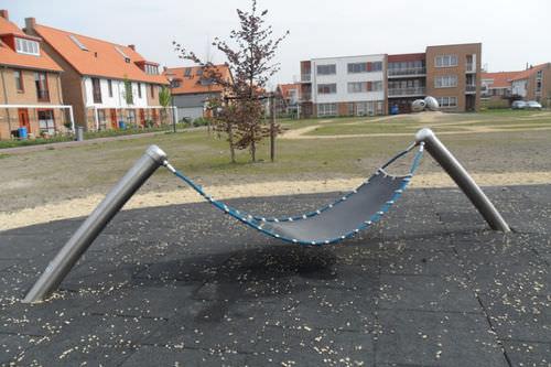 public space hammock