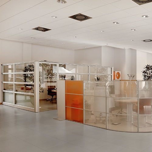 metal suspended ceiling / plaster / tile / acoustic