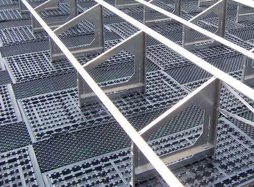 flat roof mounting system / green roof / for flat roofs / for PV applications