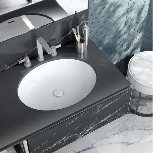 integrated washbasin