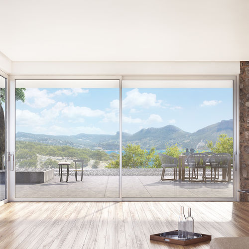 door sliding system / glass