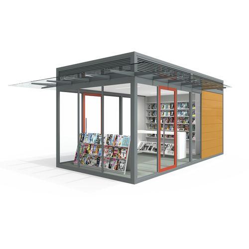 commercial kiosk / catering / information / toilet