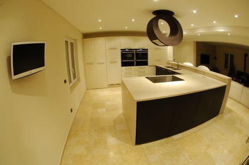 natural stone kitchen worktop / kitchen