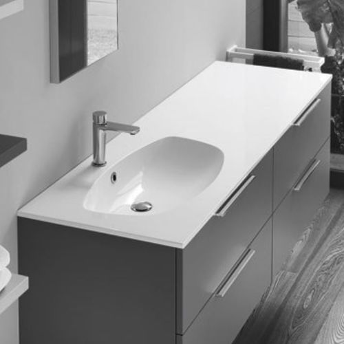 integrated washbasin