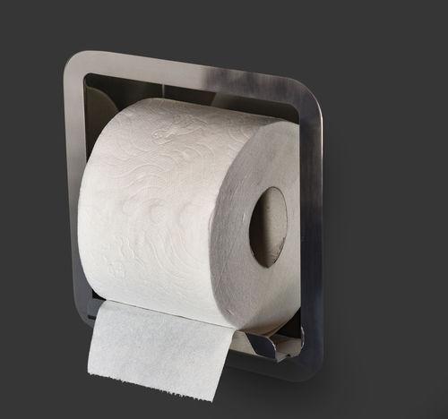 built-in toilet roll holder - Componendo