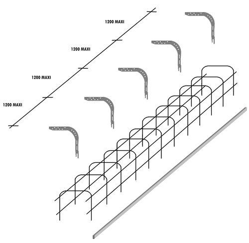 reinforced roll-up shutter lintel