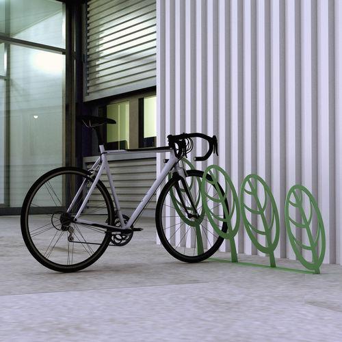 metal bike rack / for public spaces / for playgrounds / original design