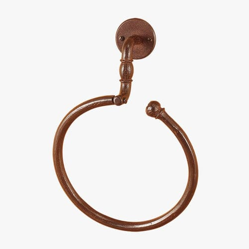 towel ring / wall-mounted / wrought iron