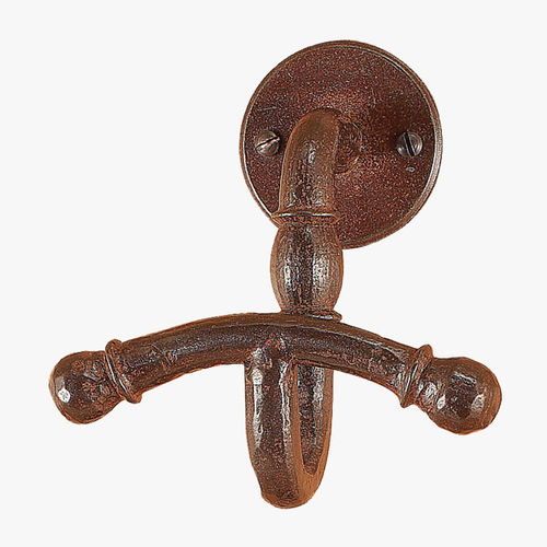 traditional coat hook / wrought iron / bathroom