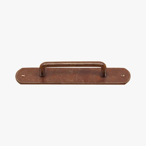 door pull handle / wrought iron / traditional