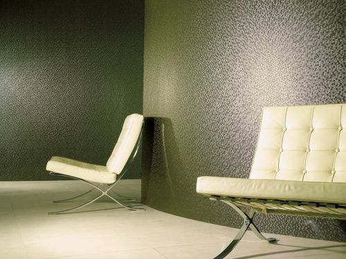 wall fabric / patterned / PVC / fire-rated