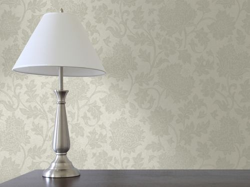 wall fabric / patterned / PVC