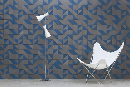 Valchromat® decorative panel / wall-mounted / 3D / custom