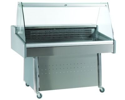 refrigerated display counter / for shops / for restaurants