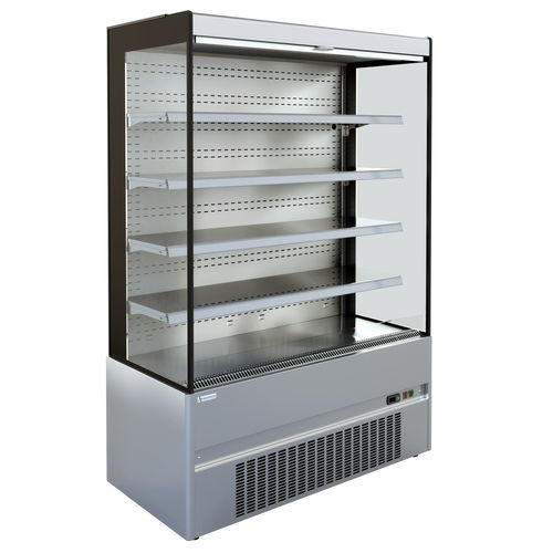 upright refrigerated display case / for shops
