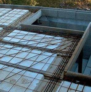 reinforced concrete pre-slab