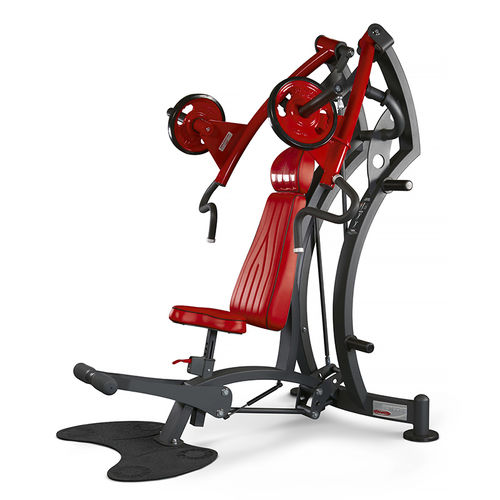 inclined chest press weight training machine