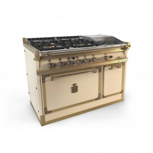 gas range cooker / electric / commercial / equipped