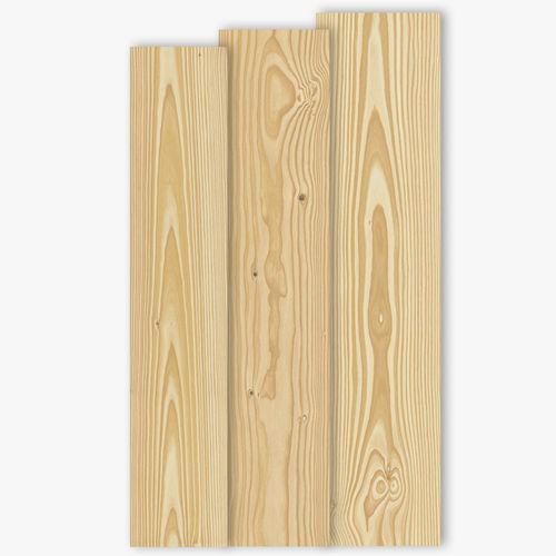 engineered parquet floor / glued / Douglas fir / natural oil finish