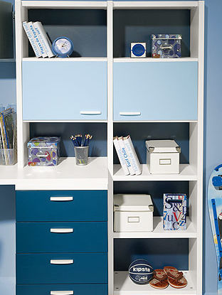 contemporary shelf / laminate / child's / boy's