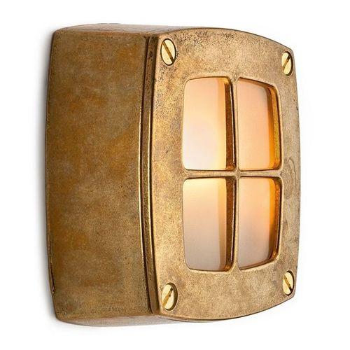 traditional wall light / outdoor / cast aluminum / halogen