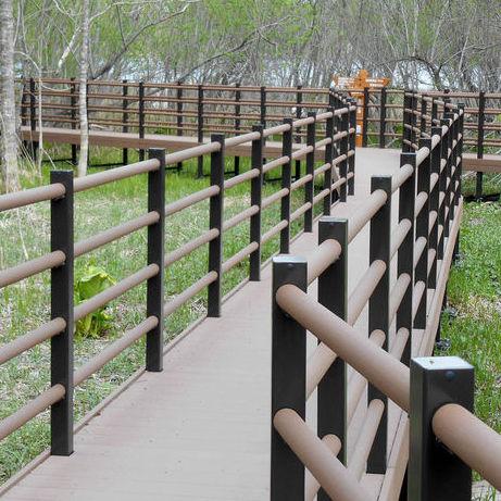 wood-plastic composite handrail