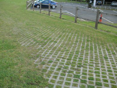 recycled plastic paving
