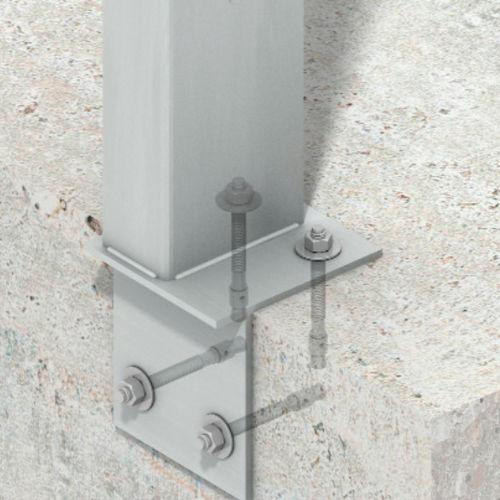 stainless steel pillar / wind