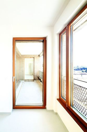 sliding and stacking patio door