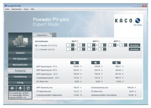 Design Software Powador Pv Pilot Kaco New Energy For Concrete Structures