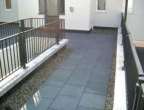 outdoor flexible tile