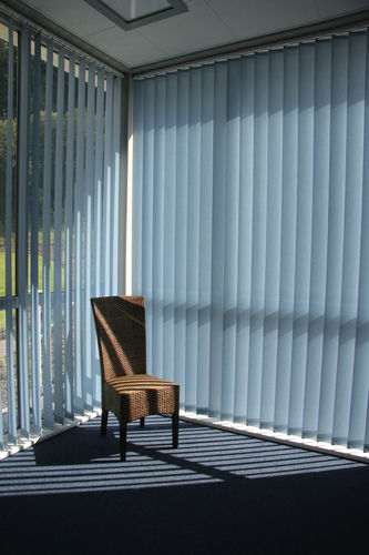 vertical blinds / PVC / sun protection