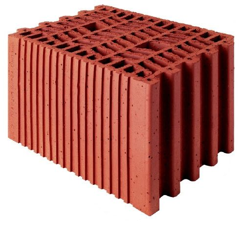 cellular brick / insulating / for walls