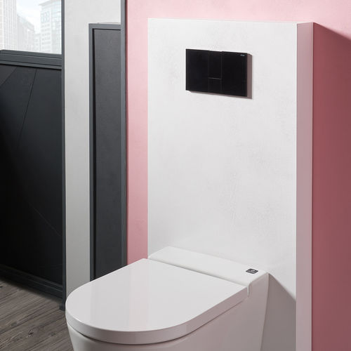wall-mounted toilet installation unit