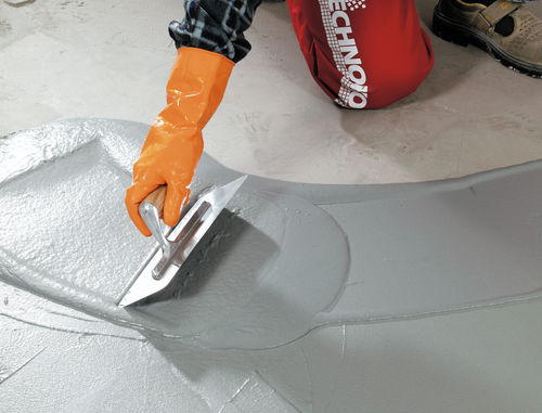 leveling mortar / fixing / for tiles / cement