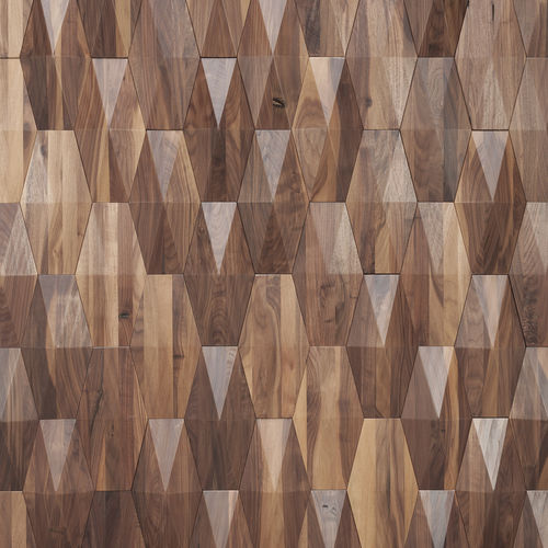 wooden wall cladding panel