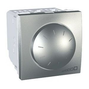 light dimmer switch / push-button / rotating / plastic