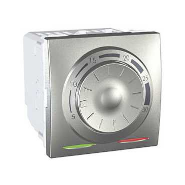 mechanical thermostat / recessed wall / for underfloor heating