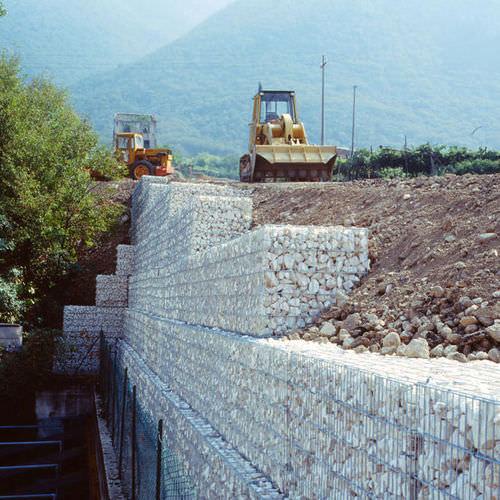 stone retaining wall / modular