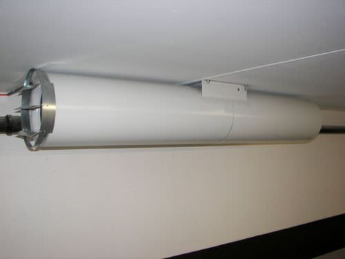 extractor fan / duct / commercial / metal