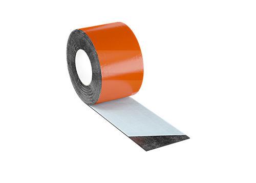 roof waterproofing membrane / strip type / bituminous
