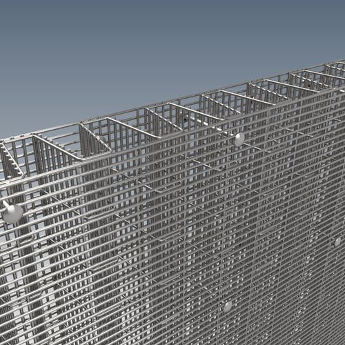 fence for industrial applications