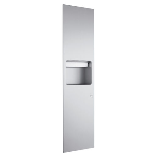 paper towel dispenser combination unit