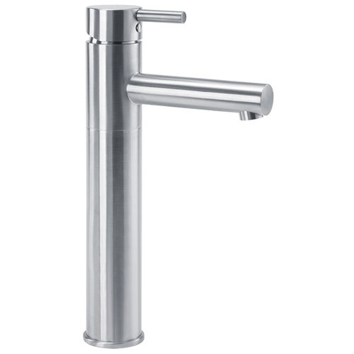 washbasin mixer tap / stainless steel / for sanitary facilities / 1-hole
