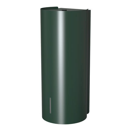 commercial soap dispenser / wall-mounted / steel / electronic