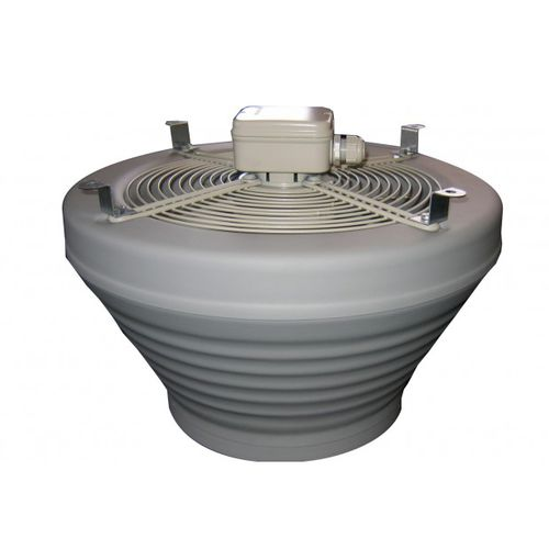 axial fan / ceiling / commercial / plastic