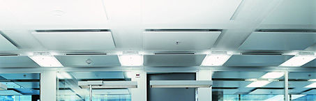 metal suspended ceiling / floating / acoustic